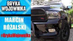 BRYKA WOJOWNIKA: Marcin Różalski (samochód)