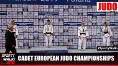 Cadet European Judo Championship Warsaw 2019 – dekoracja
