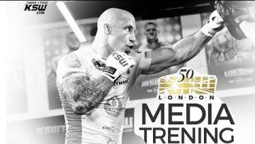 KSW 50: Trening medialny – Relacja na żywo