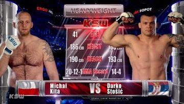 KSW Free Fight: Darko Stošić vs Michał Kita | KSW 63