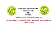 🎦🏐Esperanto CUP 2021