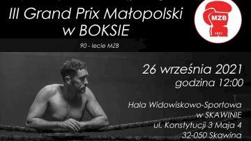 Na żywo: Małopolskie Grand Prix (26/09/2021) Skawina