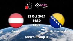 Austria v Bosnia and Herzegovina | Mens Group B | NBC WC 2021