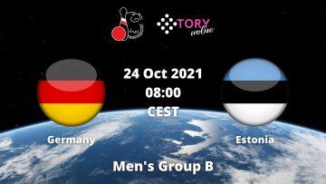 Germany v Estonia | Mens Group B | NBC WC 2021
