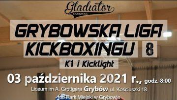 Na żywo: LIGA KICKBOXINGU (03/10/2021) Grybów